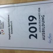 Segelverein (SvSE) erhält Auszeichnung Bild 3