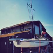 Mehr Boote am Steg und alles wieder blitzeblank Bild 1